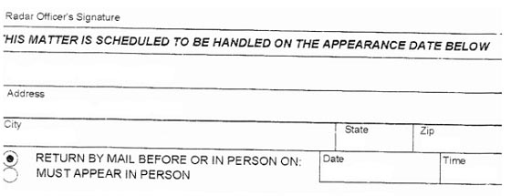3rd Part of NY Speeding Ticket