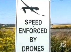 Speeding Ticket Drones