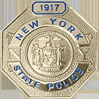 NY State Police Badge