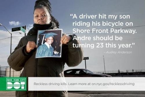 New York Anti-Speeding Advertisement