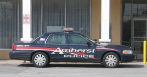 Amherst, NY police car