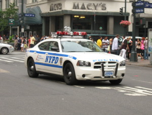 NYPD Speeding Enforcement Vehicle