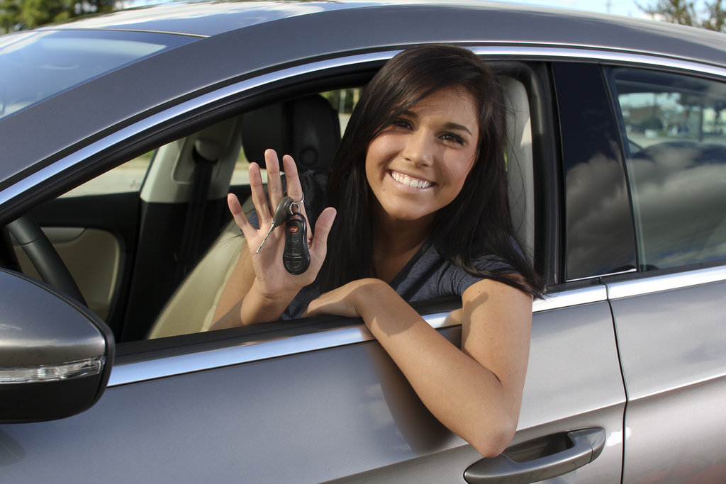 Speeding is one of the most common mistakes by teen drivers. Photo courtesy State Farm via Flikr.