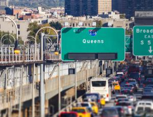 queens new york sign
