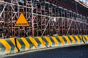 speeding in construction zone